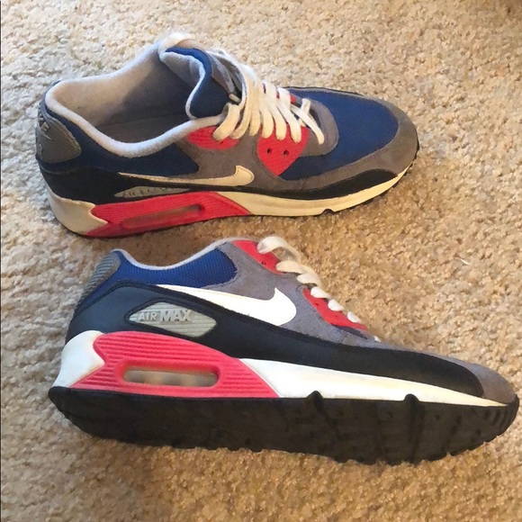 Nike Shoes - NIKE Air Max Gray Blue Black Womens